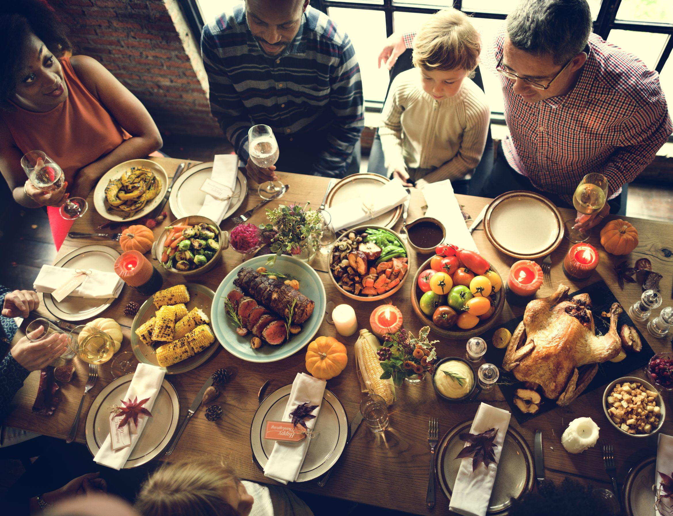 Your Body On...Overeating at a Holiday Feast