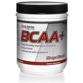 Branched Chain Amino Acids are an easily digested amino acid source that can be consumed during extended exercise to help with both hydration and energy. (Pictured is BCAA+ from AtLarge Nutrition)